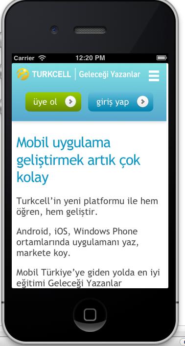 Turkcell ana sayfası