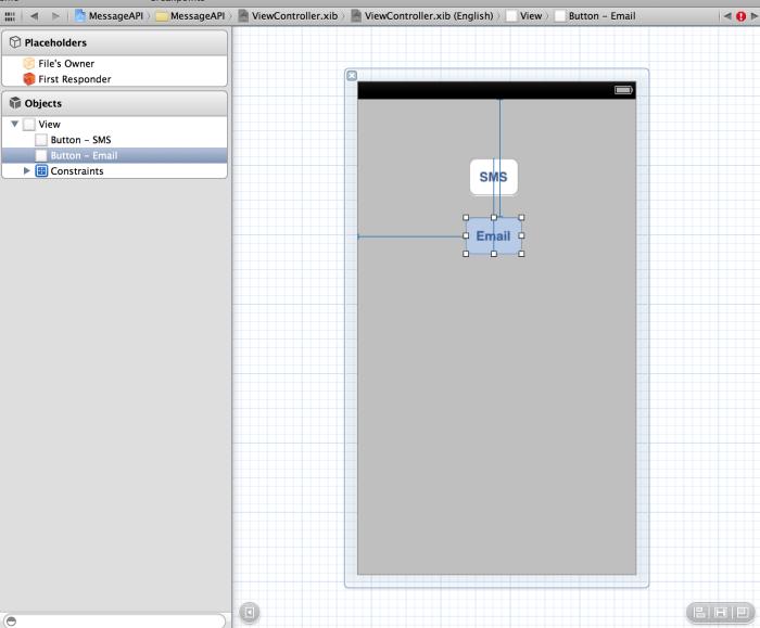 Paylaşım butonlarının Interface Builder içerisinde eklenmesi