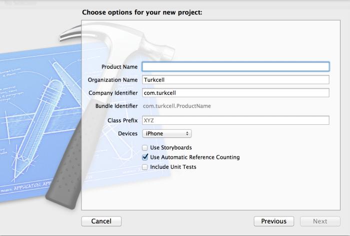 Proje detay ekranı